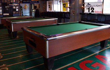 Nevada Novelty Has The Latest Technology In Pool Tables, Including 7 And 8  Foot Models; We Also Offer A Re Felting Service For Your Existing Tables.